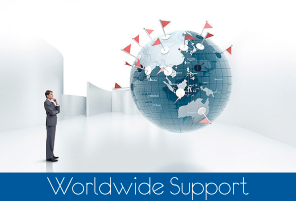 World wide support